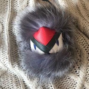 Accessories - Monster fur keychain